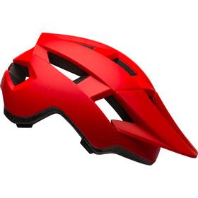 Bell Spark Helmet Barn matte/gloss red/hi-vis